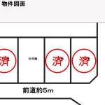 【残1区画!】【売土地】レジダンス夫婦池B号地