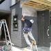 増築箇所の外壁工事